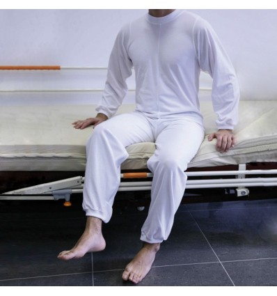 Pijama senior con cremallera