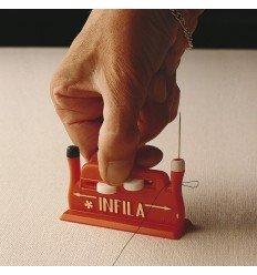 Enhebrador de agujas para coser