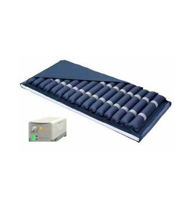 Colchón antiescaras con alternancia de tubos