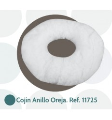 Cojín anti-escaras para oreja con forma de anillo