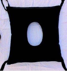 Cojín anti-escaras de poliuretano cuadrado con agujero